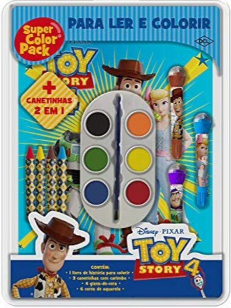 Super Pack Color Disney - Toy Story 4