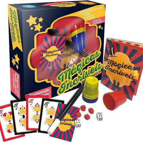 Mágicas Incríveis - Kit de Mágica