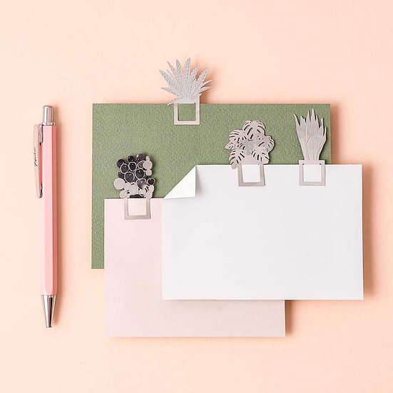 Houseplant Bookmarks - Set of 4 - Another Studio