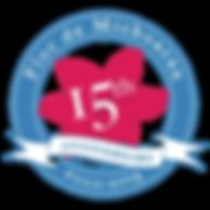 Flor de Michoacan anniversary logo