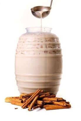 Horchata, rice, cinnamon, milk, Agua Fresca