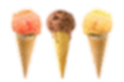 Ice cream cones, helados, conos, nieves, chocolate, vainilla, mango