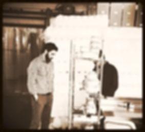 Stewart Hatch (owner) in Paletas Ice Cream plant.