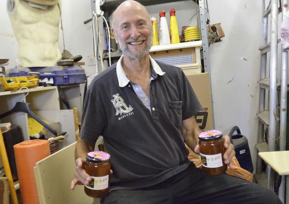 Production de miel:étape finale