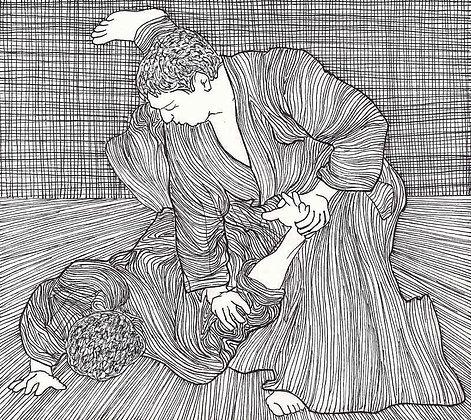 Aikido Sketch 54