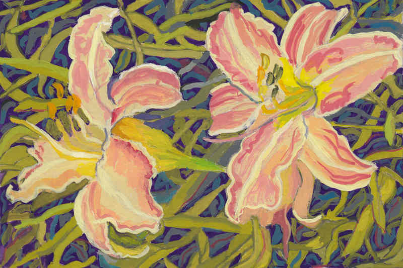 Two pink lilies _2S.JPG