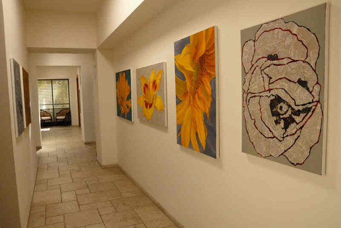 5 tips for hanging your art work