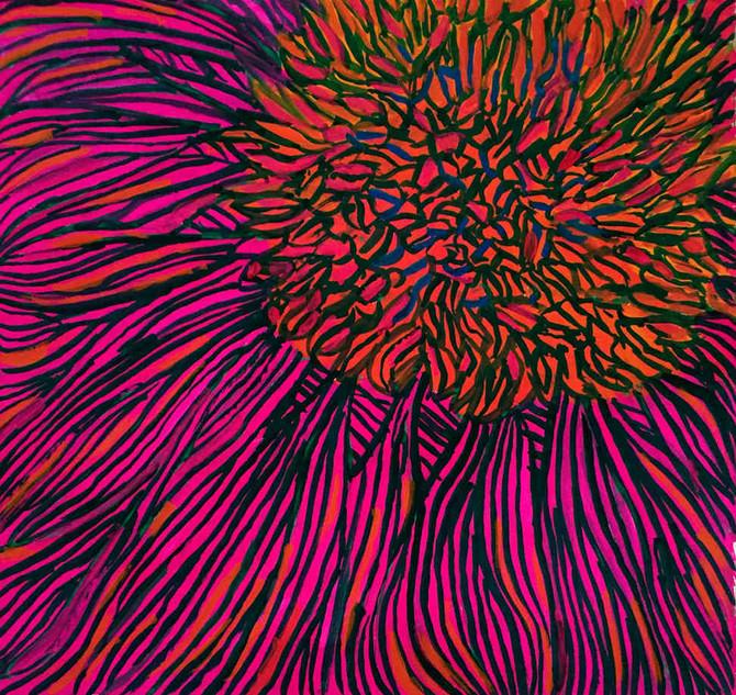 Pink and orange experimentation