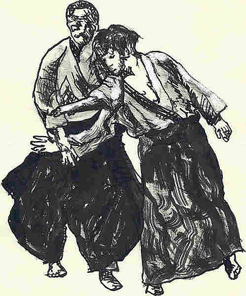 Aikido Sketch 39