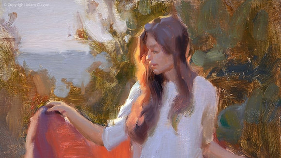 Painting the Back-Lit Figure Outdoors with Adam Clague