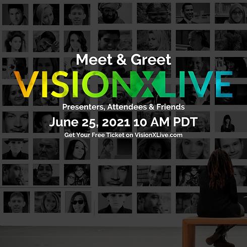 Vision X Live Meet & Greet