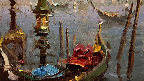 Enhancing Color & Brushwork in Oil Painting with Mostafa Keyhani