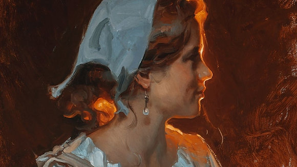 Glowing Back-Lit Portrait Painting with Michael Malm