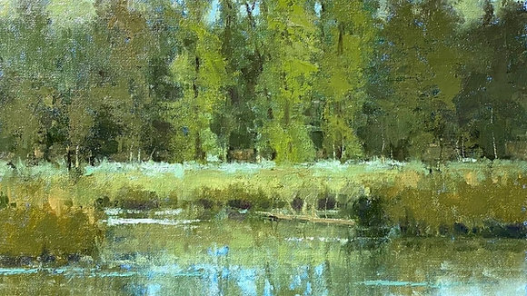Understanding Greens In Landscape Painting with Shanna Kunz