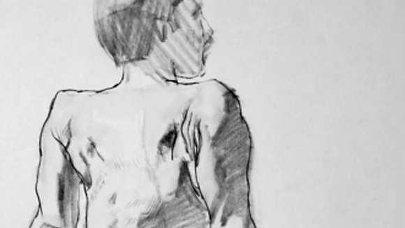 Gesture Drawing in Quick Poses with Erin Meads