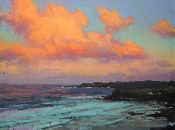 Color Saturation in Pastel Landscapes with Aaron Schuerr