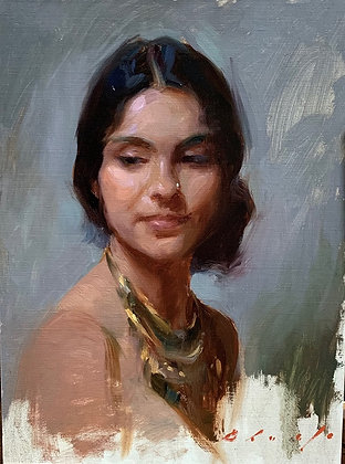 Expressive Brushwork for Portrait Painting with Suchitra Bhosle