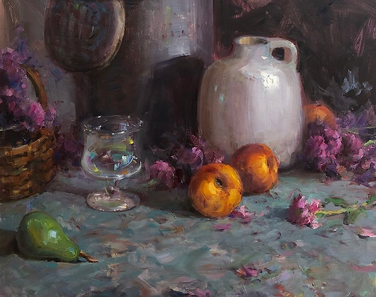 Complex Still Life Composition with Bryan Mark Taylor
