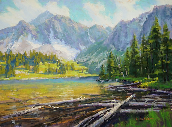 Composing Pastel Landscape Paintings with Aaron Schuerr