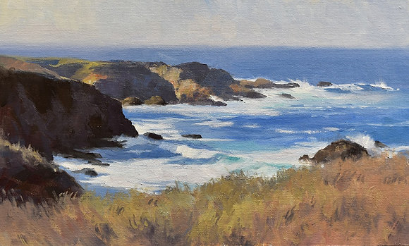 Capturing the Seascape in Oils with John Cosby