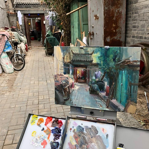 Plein Air Painting with Bryan Mark Taylor