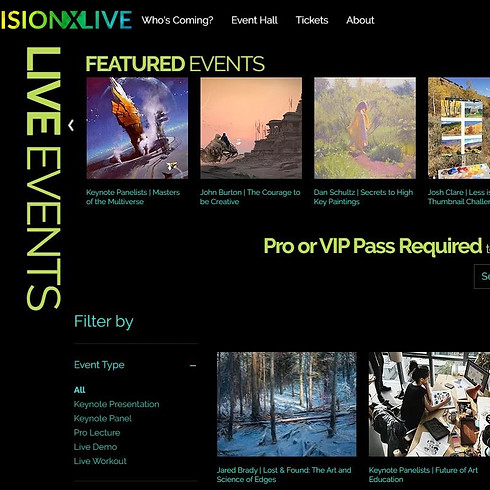 Vision X Live Art Conference