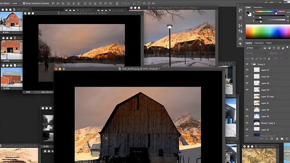 Revising Photo Reference in Photoshop with David Dibble