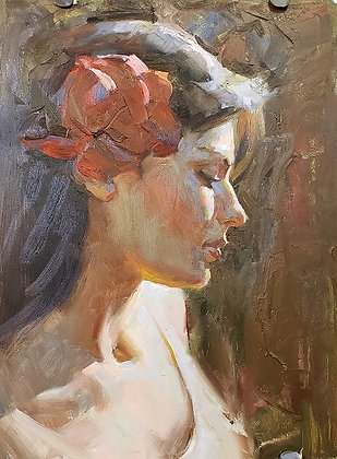 Painting Portraits using Vibrant Colors with Albin Veselka