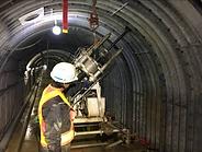排水トンネル工事 地すべり対策工事