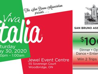 San Bruno Association Presents: Viva Italia 2020 Gala