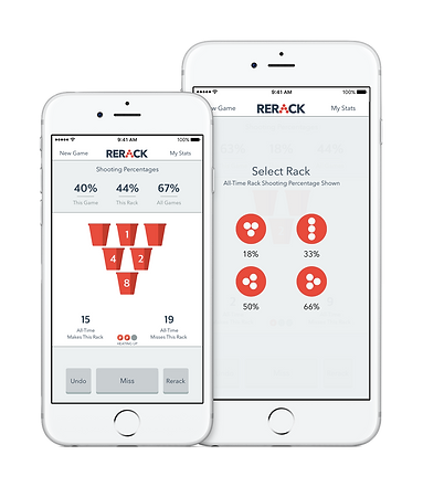 RERACK: Beer Pong Stats Tracker