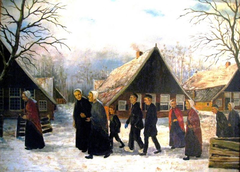 Schilderij van Bernard Jaspers Fayer