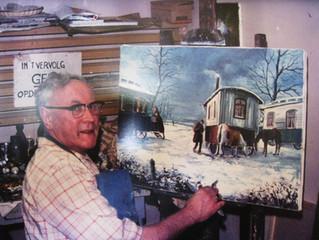 Expositie schilderijen Jaspers Faijer