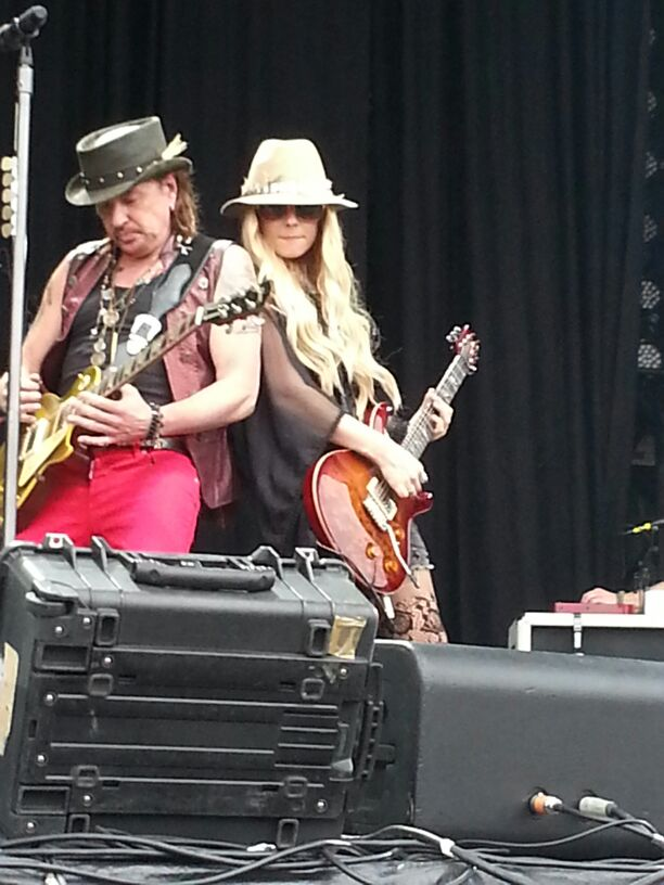 Richie and Orianthi