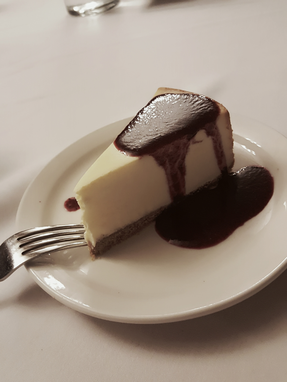 Chocolate-covered Cheesecake