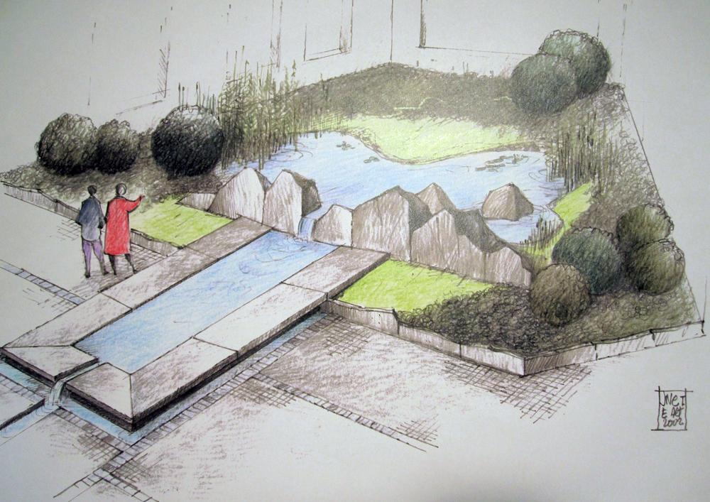 Jardin Fontaine
