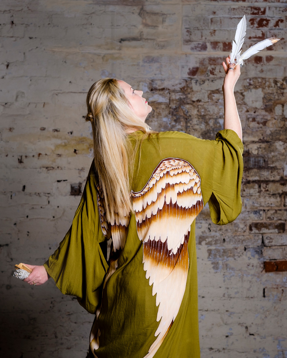 Photo by Julie Edwards. Kimono by Warriors of the Divine