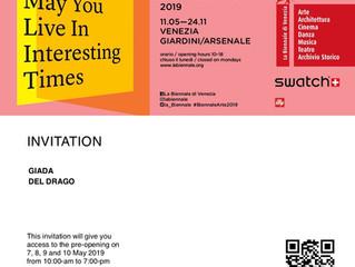 Love & Art at The Venice Biennale 2019