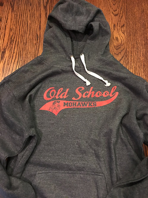 Old School Mohawks Hoodie (Tri-blend)