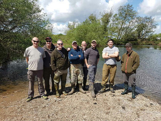 River Dove Work Party - Job Done!!