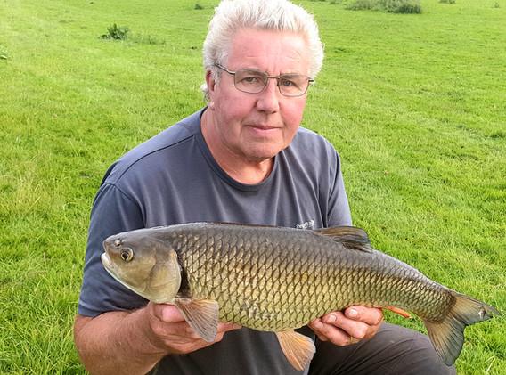 John Davey with a cracking 7lb-6oz River Dove Chub