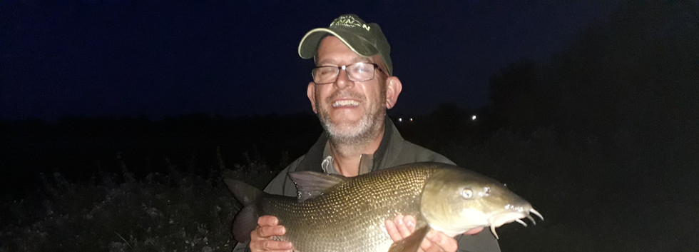 Spud with a 9lb - 12oz River Dove Barbel