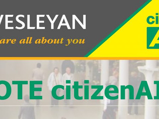 citizenAID proud to receive Wesleyan Foundation funding