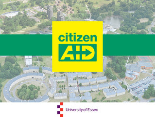 citizenAID visits University of Essex