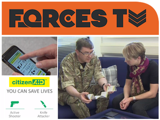 ForcesTV interviews Brigadier Hodgetts on citizenAID