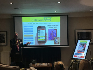 citizenAID invited to showcase initiative at Fisher House