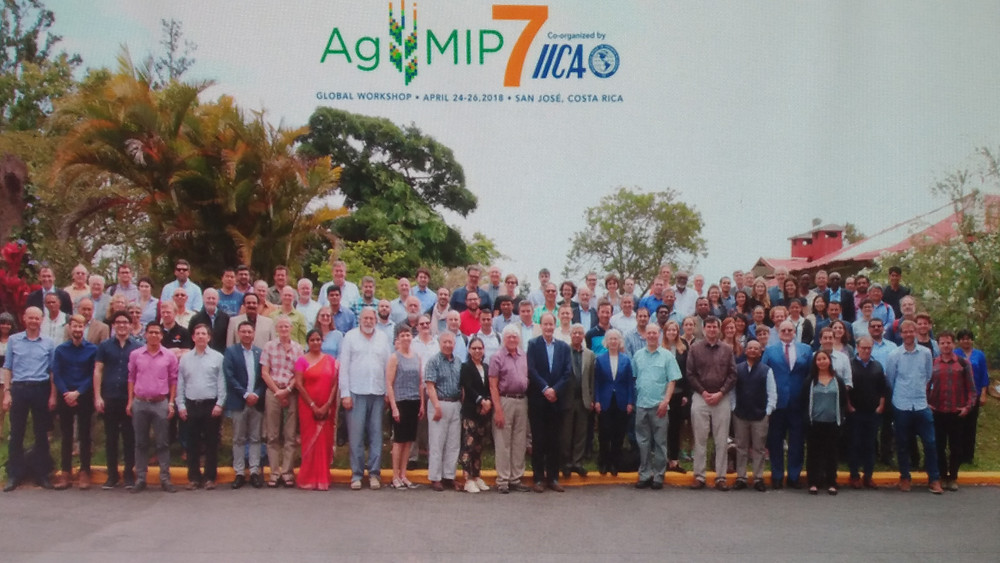 Participantes do 7º Workshop Global da AgMIP, em San Jose, Costa Rica