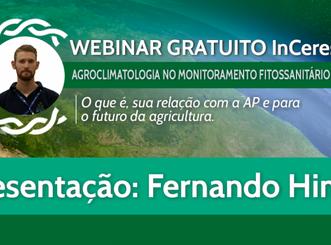 Agroclimatologia no monitoramento fitossanitário