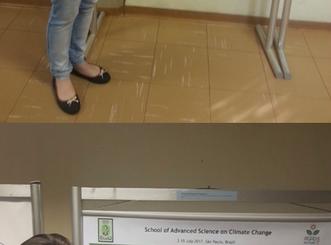 Alunas do grupo AgmFácil participam de Escola Avançada sobre Ciências em Mudanças Climáticas, no IAG