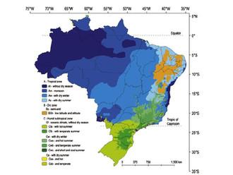 """Artigo """"Zoneamento climático do Brasil"""" supera as 1000 citações acadêmicas"""